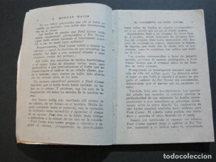 Tebeos: FRED CUSTER-EL JURAMENTO-EDICIONES CLIPER-Nº 15-VER FOTOS-(V-20.265) - Foto 8 - 206163393