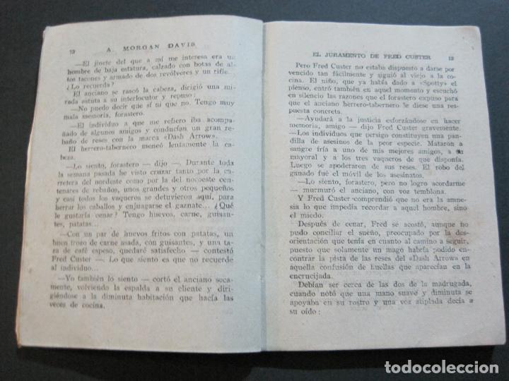 Tebeos: FRED CUSTER-EL JURAMENTO-EDICIONES CLIPER-Nº 15-VER FOTOS-(V-20.265) - Foto 9 - 206163393
