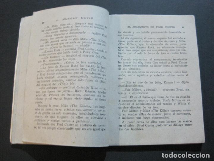 Tebeos: FRED CUSTER-EL JURAMENTO-EDICIONES CLIPER-Nº 15-VER FOTOS-(V-20.265) - Foto 10 - 206163393