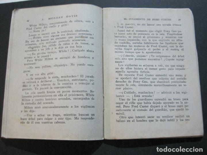 Tebeos: FRED CUSTER-EL JURAMENTO-EDICIONES CLIPER-Nº 15-VER FOTOS-(V-20.265) - Foto 12 - 206163393