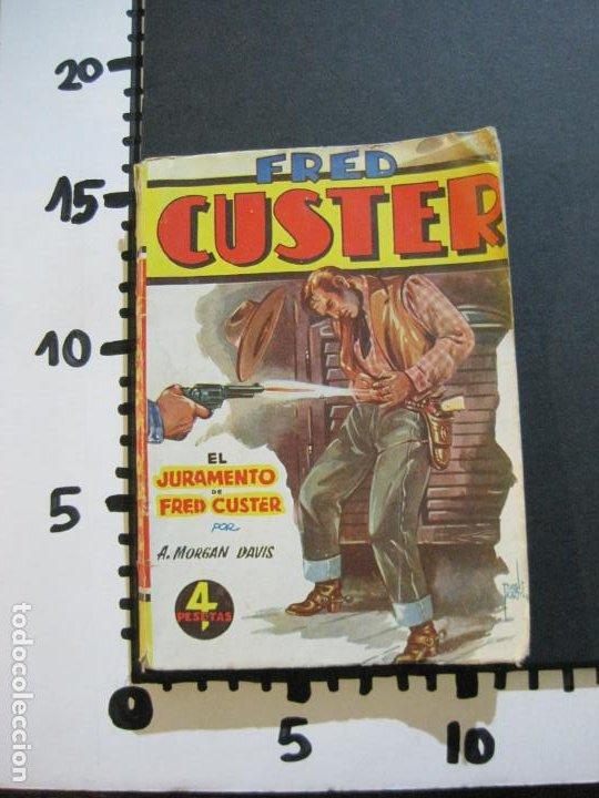 Tebeos: FRED CUSTER-EL JURAMENTO-EDICIONES CLIPER-Nº 15-VER FOTOS-(V-20.265) - Foto 18 - 206163393