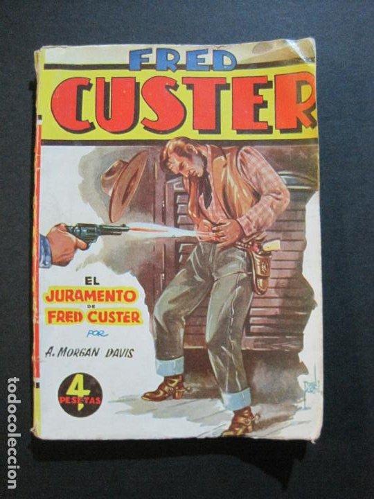 FRED CUSTER-EL JURAMENTO-EDICIONES CLIPER-Nº 15-VER FOTOS-(V-20.265) (Tebeos y Comics - Cliper - Otros)