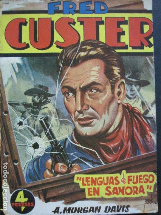 Tebeos: FRED CUSTER-LENGUAS DE FUEGO EN SANORA-EDICIONES CLIPER-Nº 20-VER FOTOS-(V-20.266) - Foto 2 - 206163662