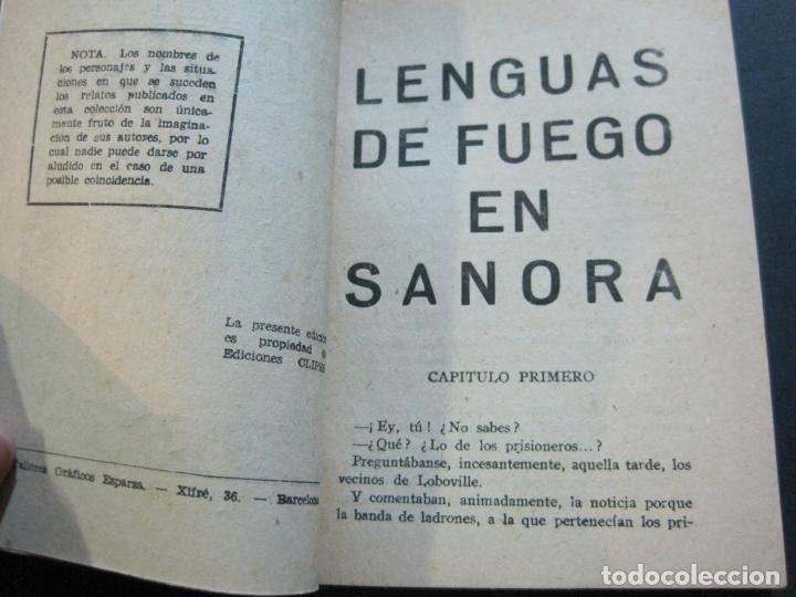 Tebeos: FRED CUSTER-LENGUAS DE FUEGO EN SANORA-EDICIONES CLIPER-Nº 20-VER FOTOS-(V-20.266) - Foto 7 - 206163662