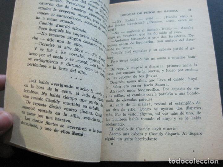 Tebeos: FRED CUSTER-LENGUAS DE FUEGO EN SANORA-EDICIONES CLIPER-Nº 20-VER FOTOS-(V-20.266) - Foto 8 - 206163662