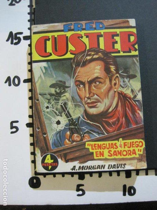 Tebeos: FRED CUSTER-LENGUAS DE FUEGO EN SANORA-EDICIONES CLIPER-Nº 20-VER FOTOS-(V-20.266) - Foto 13 - 206163662