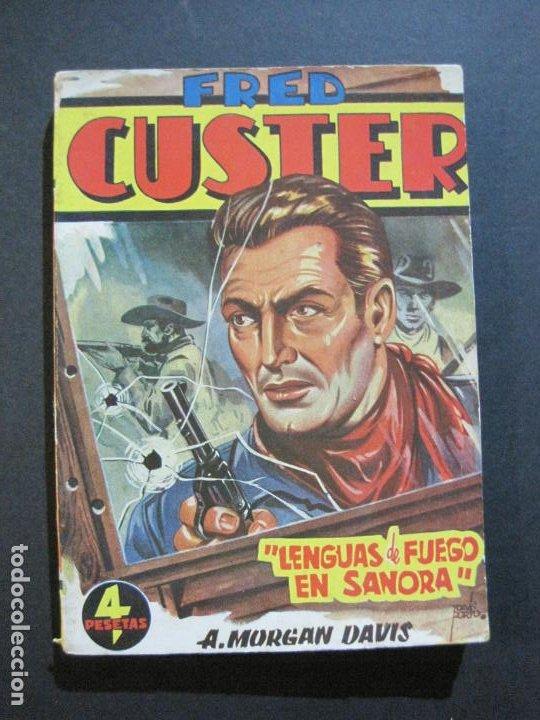 FRED CUSTER-LENGUAS DE FUEGO EN SANORA-EDICIONES CLIPER-Nº 20-VER FOTOS-(V-20.266) (Tebeos y Comics - Cliper - Otros)