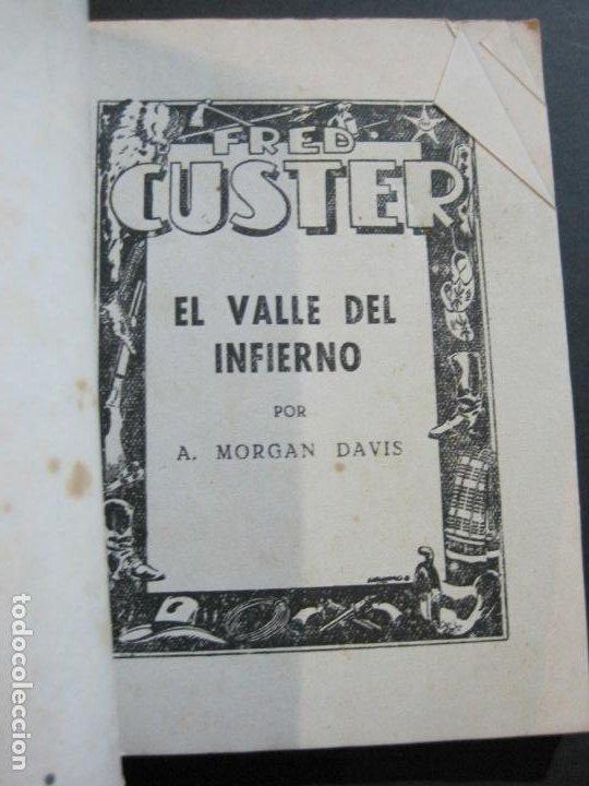 Tebeos: FRED CUSTER-EL VALLE DEL INFIERNO-EDICIONES CLIPER-Nº 12-VER FOTOS-(V-20.267) - Foto 5 - 206163871