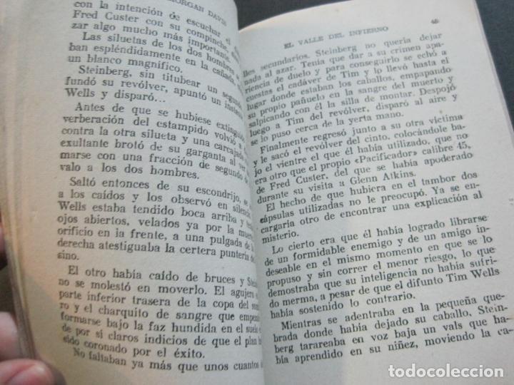 Tebeos: FRED CUSTER-EL VALLE DEL INFIERNO-EDICIONES CLIPER-Nº 12-VER FOTOS-(V-20.267) - Foto 7 - 206163871