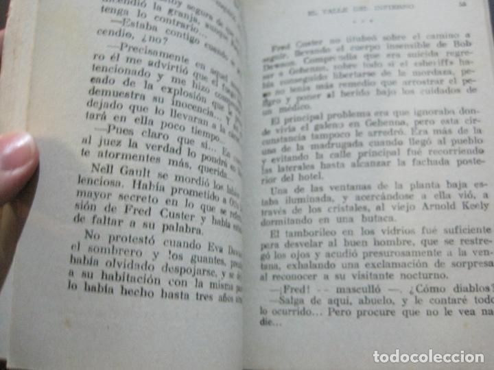 Tebeos: FRED CUSTER-EL VALLE DEL INFIERNO-EDICIONES CLIPER-Nº 12-VER FOTOS-(V-20.267) - Foto 8 - 206163871