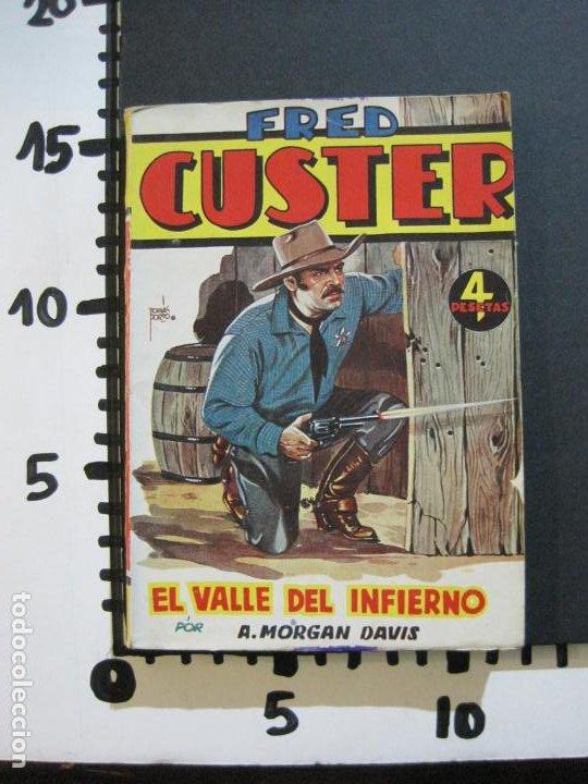 Tebeos: FRED CUSTER-EL VALLE DEL INFIERNO-EDICIONES CLIPER-Nº 12-VER FOTOS-(V-20.267) - Foto 10 - 206163871