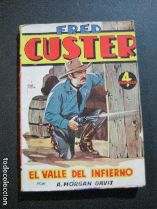 FRED CUSTER-EL VALLE DEL INFIERNO-EDICIONES CLIPER-Nº 12-VER FOTOS-(V-20.267) (Tebeos y Comics - Cliper - Otros)