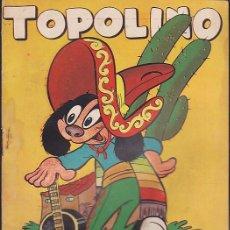 Tebeos: COMIC COLECCION TOPOLINO Nº 7 EDITORIAL GERPLA. Lote 206307455
