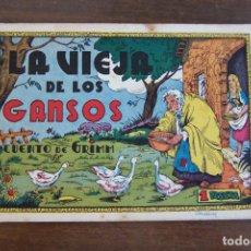 Tebeos: CLIPER CISNE, CUADERNOS SELECTOS Nº LA VIEJA DE LOS GANSOS. Lote 206325685