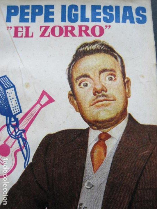 Tebeos: PEPE IGLESIAS EL ZORRO-PEQUEÑA HISTORIA DE GRANDES PERSONAJES-Nº 1-CLIPER 1958-VER FOTOS-(V-20.308) - Foto 2 - 207012028