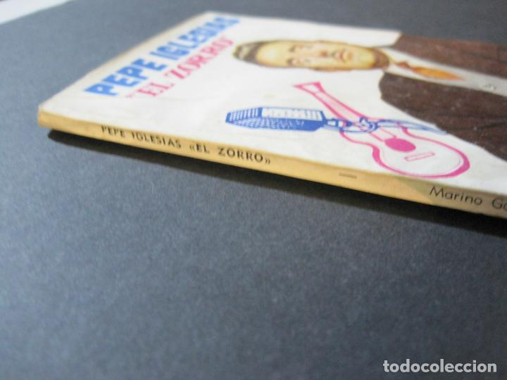 Tebeos: PEPE IGLESIAS EL ZORRO-PEQUEÑA HISTORIA DE GRANDES PERSONAJES-Nº 1-CLIPER 1958-VER FOTOS-(V-20.308) - Foto 4 - 207012028