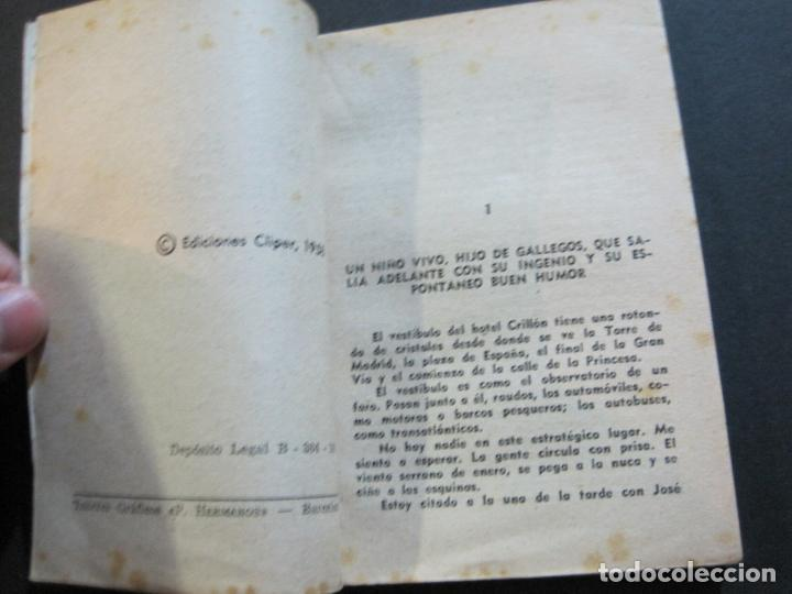 Tebeos: PEPE IGLESIAS EL ZORRO-PEQUEÑA HISTORIA DE GRANDES PERSONAJES-Nº 1-CLIPER 1958-VER FOTOS-(V-20.308) - Foto 9 - 207012028