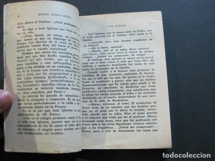 Tebeos: PEPE IGLESIAS EL ZORRO-PEQUEÑA HISTORIA DE GRANDES PERSONAJES-Nº 1-CLIPER 1958-VER FOTOS-(V-20.308) - Foto 10 - 207012028