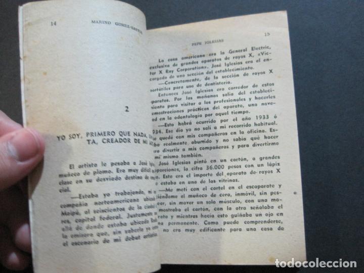 Tebeos: PEPE IGLESIAS EL ZORRO-PEQUEÑA HISTORIA DE GRANDES PERSONAJES-Nº 1-CLIPER 1958-VER FOTOS-(V-20.308) - Foto 11 - 207012028