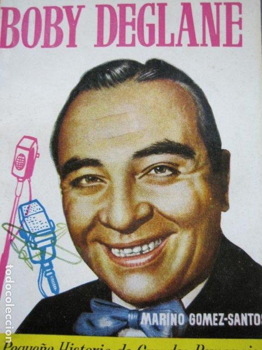 Tebeos: BOBY DEGLANE-PEQUEÑA HISTORIA DE GRANDES PERSONAJES-Nº 3-ED· CLIPER 1958-VER FOTOS-(V-20.310) - Foto 2 - 207013001