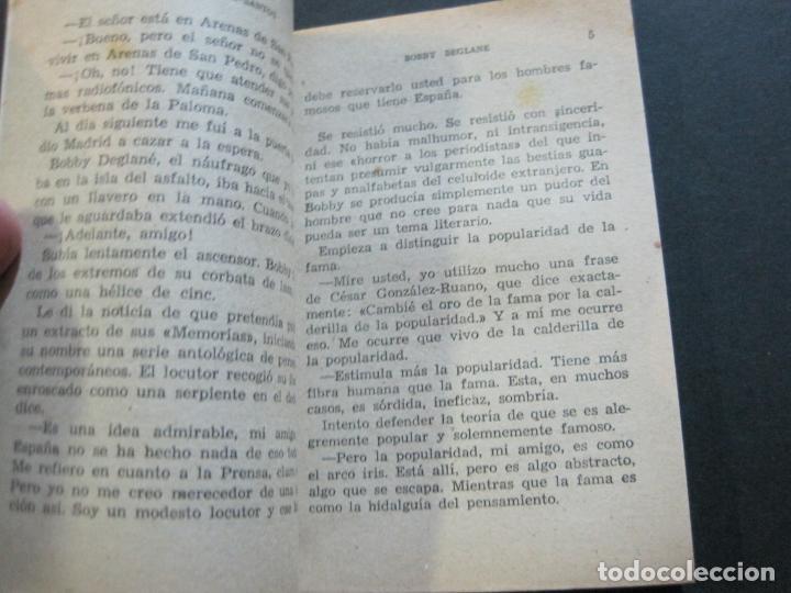 Tebeos: BOBY DEGLANE-PEQUEÑA HISTORIA DE GRANDES PERSONAJES-Nº 3-ED· CLIPER 1958-VER FOTOS-(V-20.310) - Foto 8 - 207013001