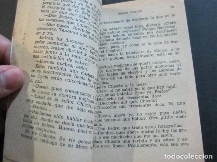 Tebeos: PERICO CHICOTE-PEQUEÑA HISTORIA DE GRANDES PERSONAJES-Nº 4-ED· CLIPER 1958-VER FOTOS-(V-20.311) - Foto 10 - 207013373