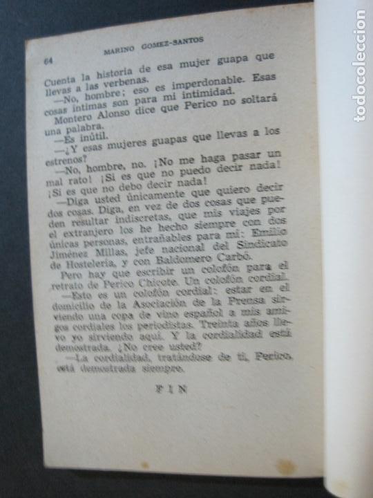 Tebeos: PERICO CHICOTE-PEQUEÑA HISTORIA DE GRANDES PERSONAJES-Nº 4-ED· CLIPER 1958-VER FOTOS-(V-20.311) - Foto 11 - 207013373