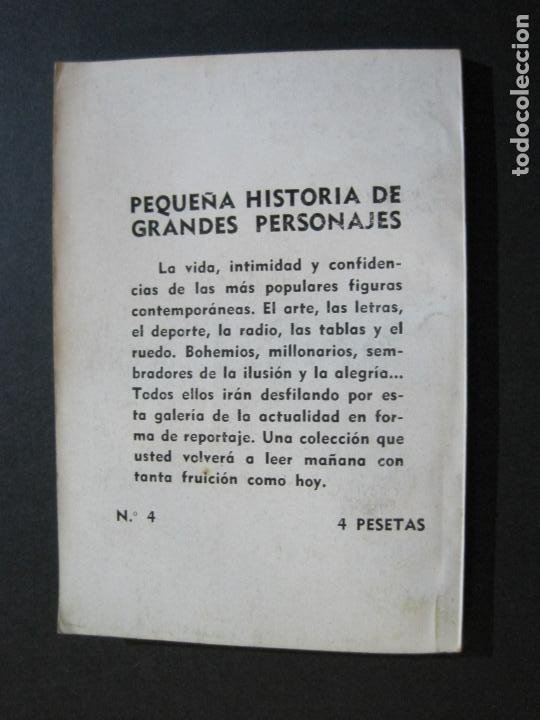 Tebeos: PERICO CHICOTE-PEQUEÑA HISTORIA DE GRANDES PERSONAJES-Nº 4-ED· CLIPER 1958-VER FOTOS-(V-20.311) - Foto 12 - 207013373