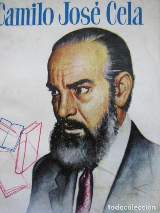 Tebeos: CAMILO JOSE CELA-PEQUEÑA HISTORIA DE GRANDES PERSONAJES-Nº 5-ED· CLIPER 1958-VER FOTOS-(V-20.312) - Foto 2 - 207013663