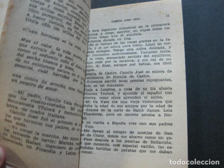 Tebeos: CAMILO JOSE CELA-PEQUEÑA HISTORIA DE GRANDES PERSONAJES-Nº 5-ED· CLIPER 1958-VER FOTOS-(V-20.312) - Foto 7 - 207013663
