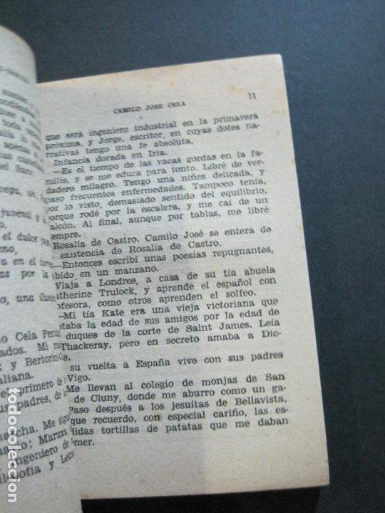Tebeos: CAMILO JOSE CELA-PEQUEÑA HISTORIA DE GRANDES PERSONAJES-Nº 5-ED· CLIPER 1958-VER FOTOS-(V-20.312) - Foto 9 - 207013663