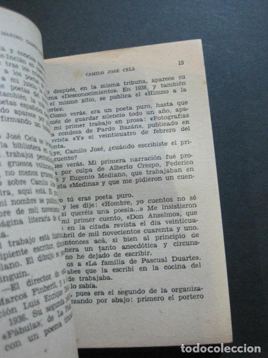 Tebeos: CAMILO JOSE CELA-PEQUEÑA HISTORIA DE GRANDES PERSONAJES-Nº 5-ED· CLIPER 1958-VER FOTOS-(V-20.312) - Foto 10 - 207013663