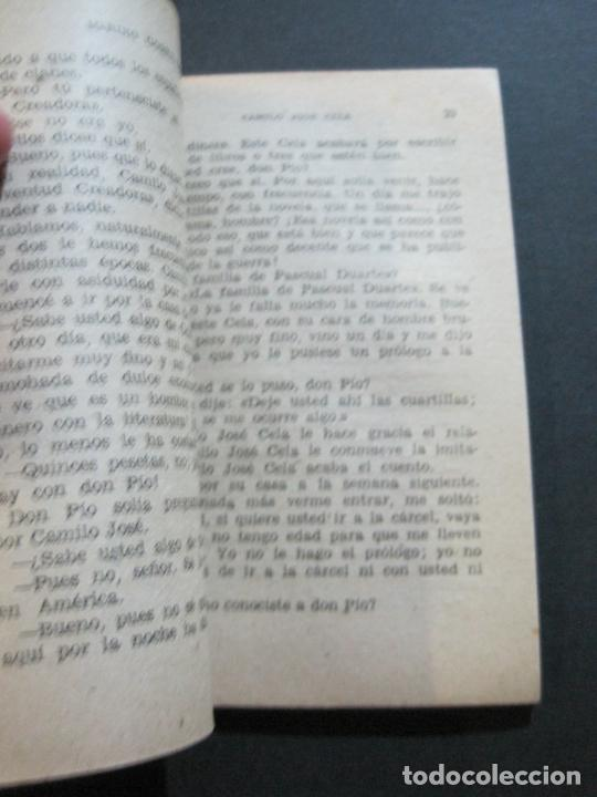 Tebeos: CAMILO JOSE CELA-PEQUEÑA HISTORIA DE GRANDES PERSONAJES-Nº 5-ED· CLIPER 1958-VER FOTOS-(V-20.312) - Foto 11 - 207013663