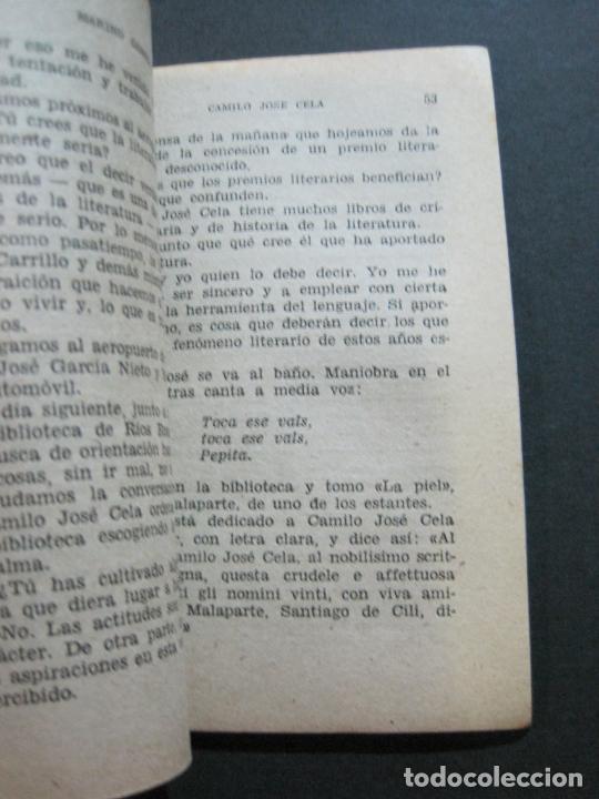 Tebeos: CAMILO JOSE CELA-PEQUEÑA HISTORIA DE GRANDES PERSONAJES-Nº 5-ED· CLIPER 1958-VER FOTOS-(V-20.312) - Foto 12 - 207013663