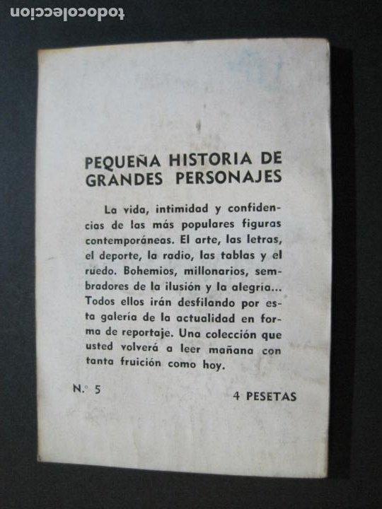 Tebeos: CAMILO JOSE CELA-PEQUEÑA HISTORIA DE GRANDES PERSONAJES-Nº 5-ED· CLIPER 1958-VER FOTOS-(V-20.312) - Foto 14 - 207013663
