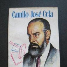 Tebeos: CAMILO JOSE CELA-PEQUEÑA HISTORIA DE GRANDES PERSONAJES-Nº 5-ED· CLIPER 1958-VER FOTOS-(V-20.312). Lote 207013663