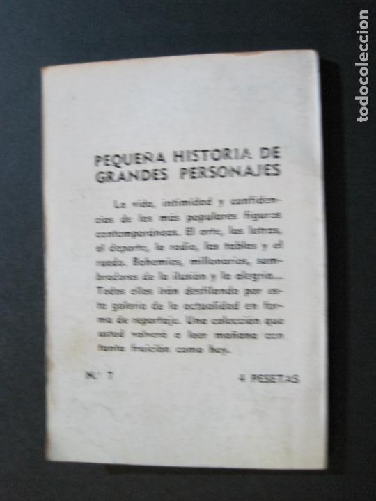 Tebeos: DANIEL VAZQUEZ DIAZ-PEQUEÑA HISTORIA DE GRANDES PERSONAJES-Nº 7-CLIPER 1958-VER FOTOS-(V-20.314) - Foto 15 - 207014912
