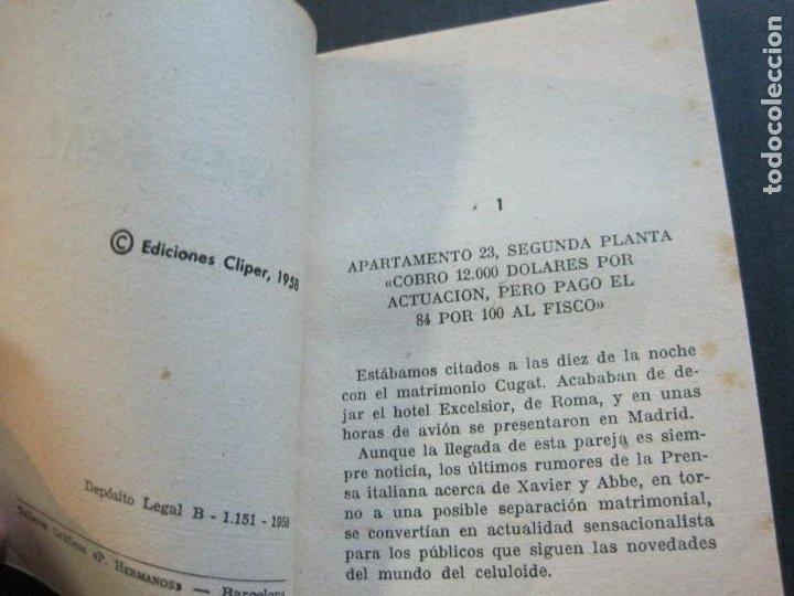 Tebeos: XAVIER CUGAT-PEQUEÑA HISTORIA DE GRANDES PERSONAJES-Nº 8-CLIPER 1958-VER FOTOS-(V-20.315) - Foto 8 - 207015076