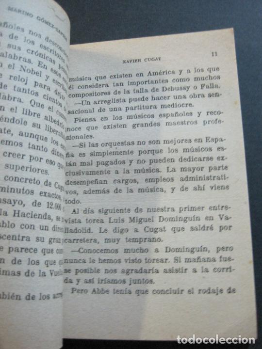 Tebeos: XAVIER CUGAT-PEQUEÑA HISTORIA DE GRANDES PERSONAJES-Nº 8-CLIPER 1958-VER FOTOS-(V-20.315) - Foto 9 - 207015076