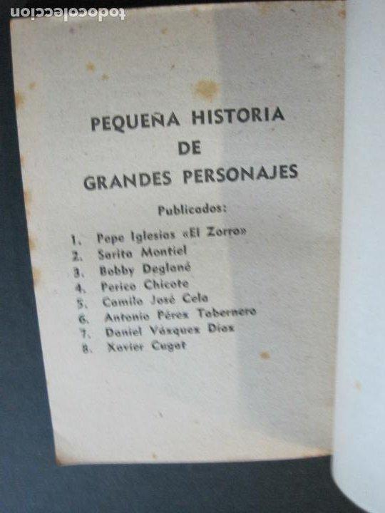 Tebeos: XAVIER CUGAT-PEQUEÑA HISTORIA DE GRANDES PERSONAJES-Nº 8-CLIPER 1958-VER FOTOS-(V-20.315) - Foto 12 - 207015076