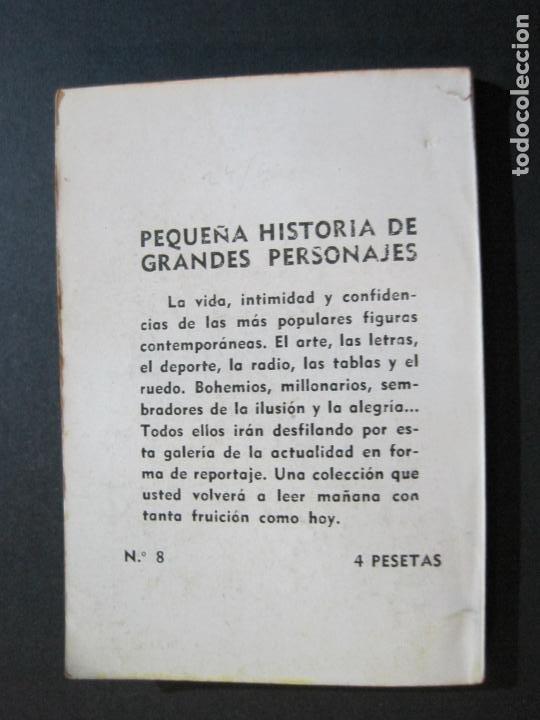 Tebeos: XAVIER CUGAT-PEQUEÑA HISTORIA DE GRANDES PERSONAJES-Nº 8-CLIPER 1958-VER FOTOS-(V-20.315) - Foto 14 - 207015076