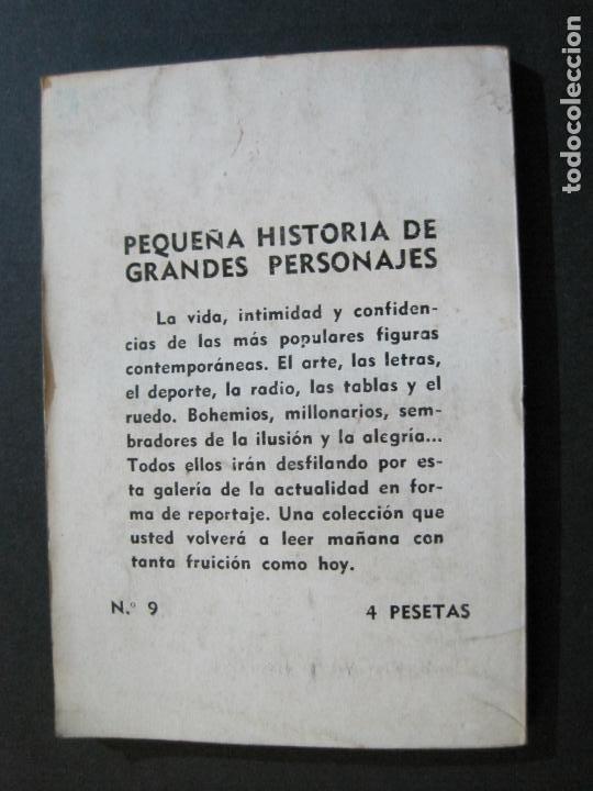 Tebeos: RAQUEL MELLER-PEQUEÑA HISTORIA DE GRANDES PERSONAJES-Nº 9-CLIPER 1958-VER FOTOS-(V-20.316) - Foto 12 - 207015443