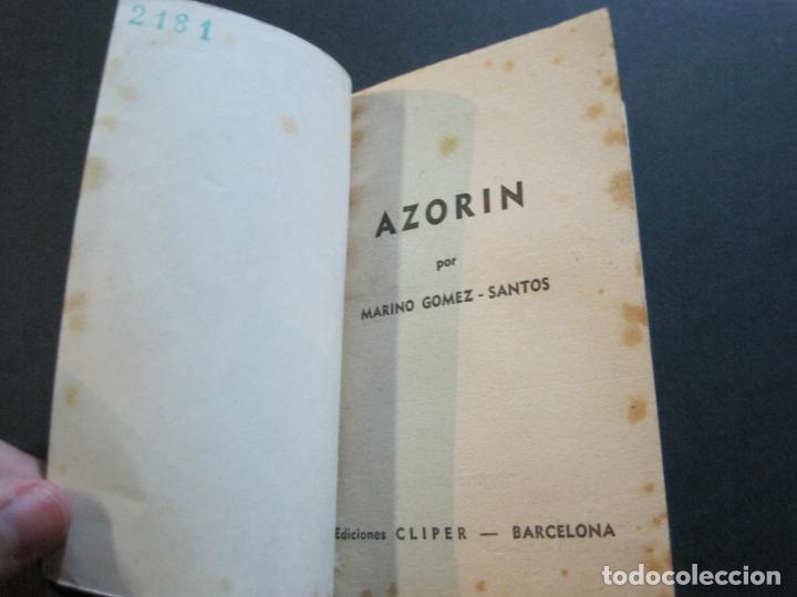 Tebeos: AZORIN-PEQUEÑA HISTORIA DE GRANDES PERSONAJES-Nº 10-CLIPER 1958-VER FOTOS-(V-20.317) - Foto 8 - 207015617