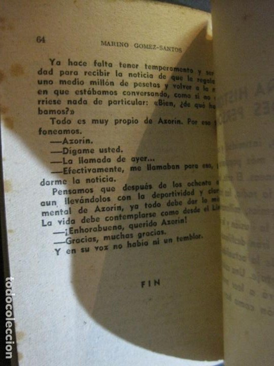 Tebeos: AZORIN-PEQUEÑA HISTORIA DE GRANDES PERSONAJES-Nº 10-CLIPER 1958-VER FOTOS-(V-20.317) - Foto 15 - 207015617