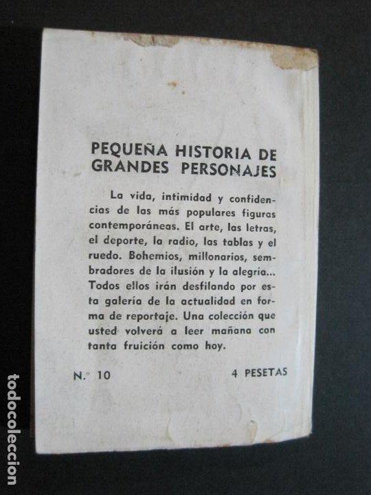 Tebeos: AZORIN-PEQUEÑA HISTORIA DE GRANDES PERSONAJES-Nº 10-CLIPER 1958-VER FOTOS-(V-20.317) - Foto 16 - 207015617