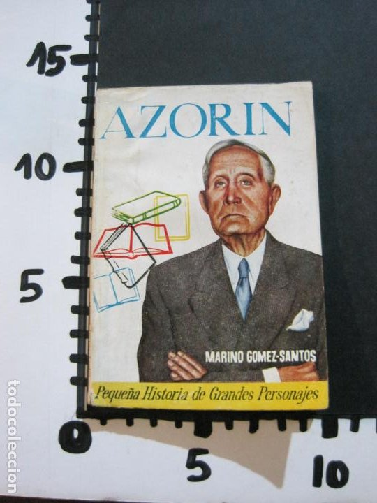 Tebeos: AZORIN-PEQUEÑA HISTORIA DE GRANDES PERSONAJES-Nº 10-CLIPER 1958-VER FOTOS-(V-20.317) - Foto 17 - 207015617