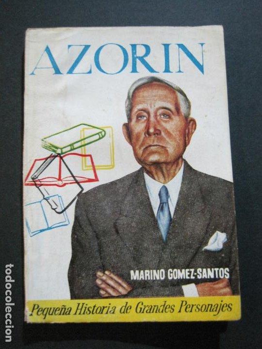 AZORIN-PEQUEÑA HISTORIA DE GRANDES PERSONAJES-Nº 10-CLIPER 1958-VER FOTOS-(V-20.317) (Tebeos y Comics - Cliper - Otros)