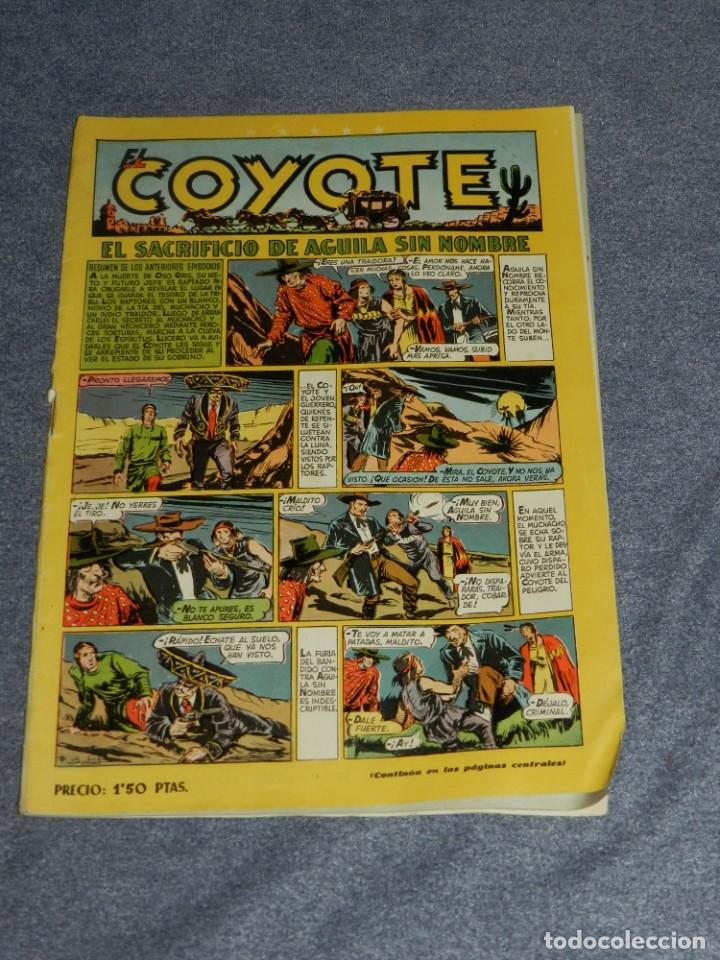 (M10) EL COYOTE N.36 EDT CLIPER, SEÑALES DE USO (Tebeos y Comics - Cliper - El Coyote)