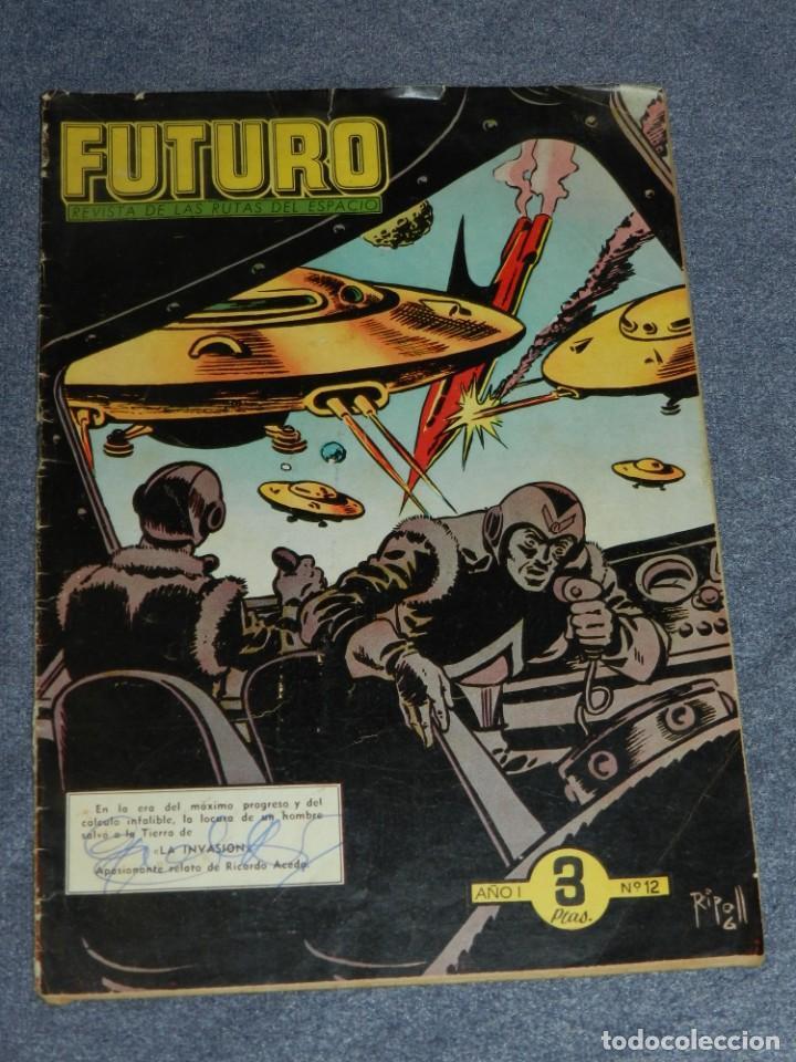 (M1) FUTURO REVISTA DE LAS RUTAS DEL ESPACIO AÑO I N.12 EDT CLIPER, SEÑALES DE USO (Tebeos y Comics - Cliper - Otros)
