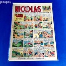 Tebeos: NICOLAS Nº 92 ORIGINAL EDICIONES CLIPER 1948. Lote 209615037